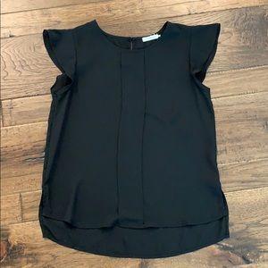 NWOT woman's black tank blouse! So cute!